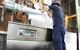 株式会社ヤマキン|ワークフロー|洗浄・表面処理風景写真